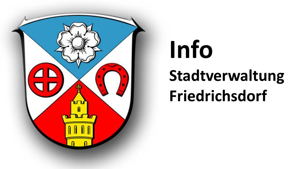 Stadtverwaltung Friedrichsdorf informiert