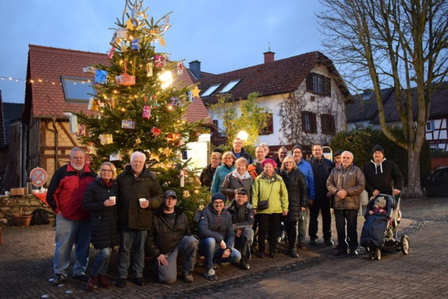 Weihnachtliches Burgholzhausen, Vereinsring