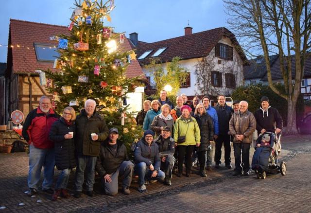 Weihnachtliches Burgholzhausen, Vereinring