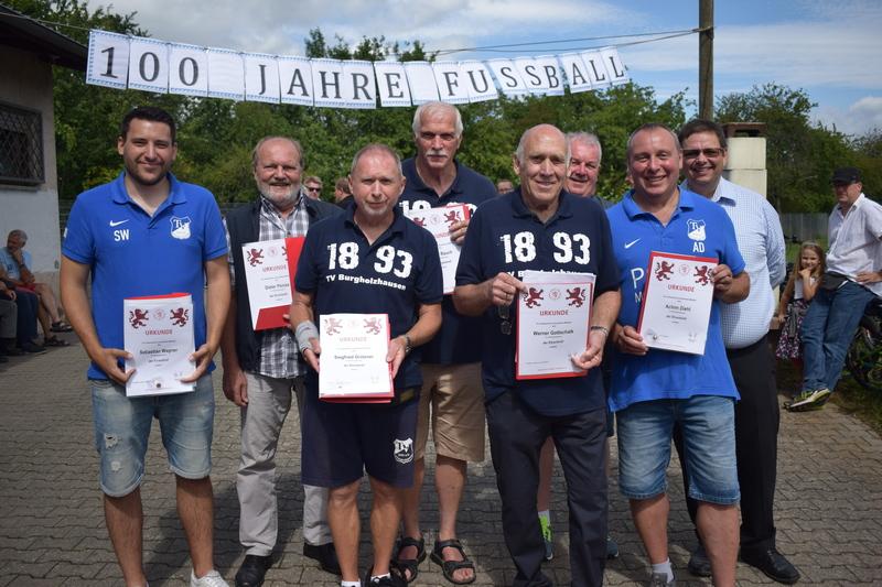 100 Jahre Fußball Burgholzhausen
