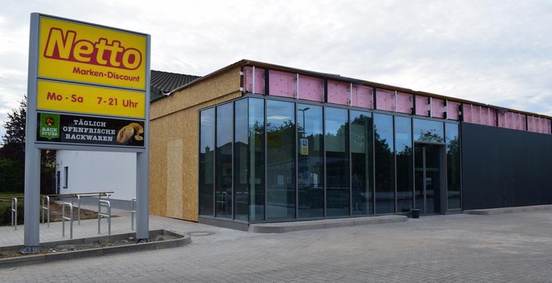 Wiedereröffnung Netto-Markt Burgholzhausen