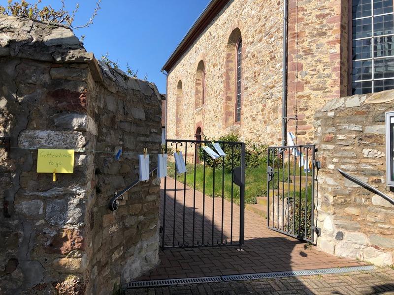 Evangelische Kirche Burgholzhausen, Gottesdienst to Go