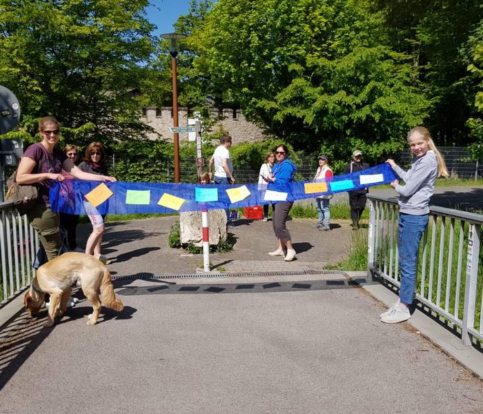 Corona-Spendenlauf Burgholzhausen 2020