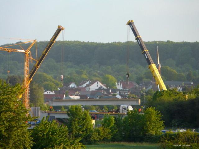 Brückenbau Rastplatz Schäferborn
