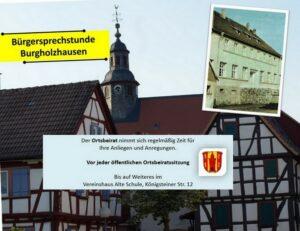 Bürgersprechstunde @ Alte Schule