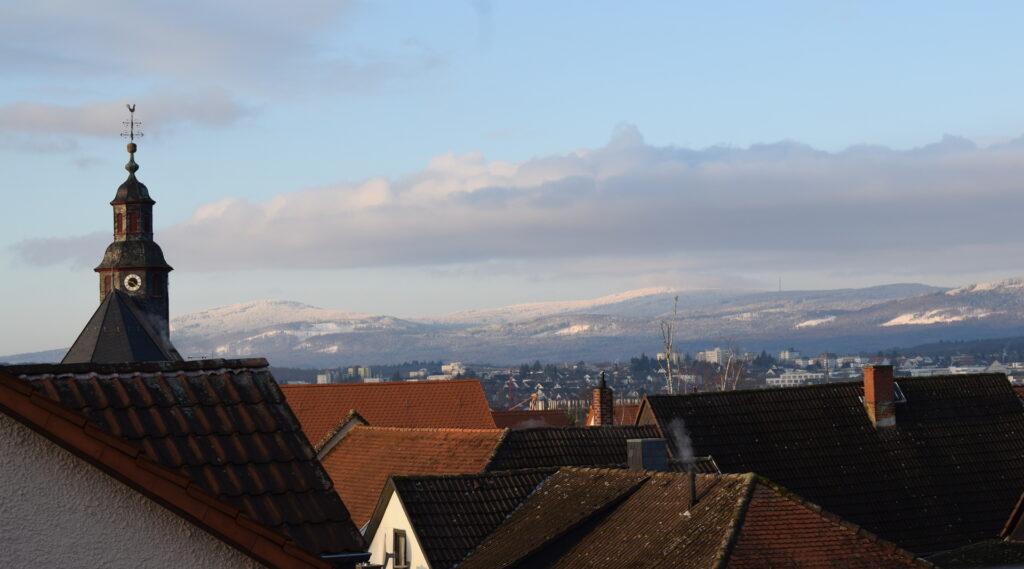 Burgholzhausen Winter Friedrichsdorf