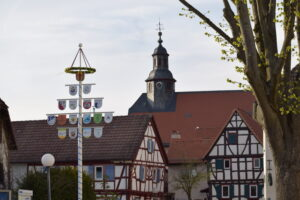 Maibaum Burgholzhausen, Burgholzhäuser Stadtteilseite
