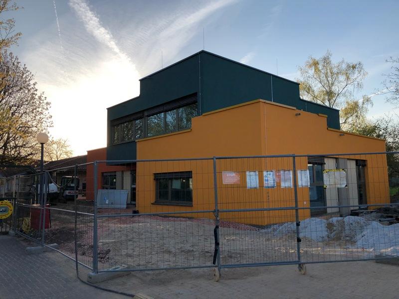 Burgholzhausen Kindergarten Spatzennest Neubau