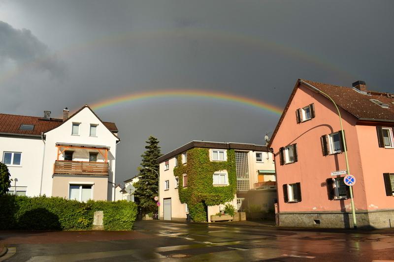 Regenbogen Burgholzhausen Burgholzhäuser Stadtteilseite